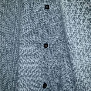 Mens Chic Axist Button Down Dress Shirt